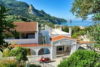panorama apartments sea view complex corfu
