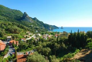 panorama sea view hotel agios gorgios corfu