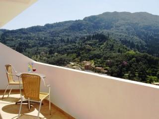Balcony, studio w/ sofa