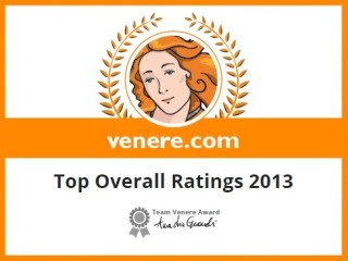 Venere overall rating 2013